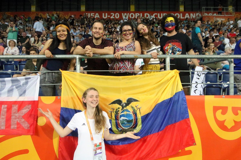 Kibice na meczu Ekwador - Korea Południowa (ZDJĘCIA)