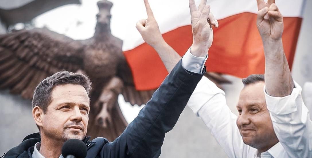 Andrzej Duda minimalnie przed Rafałem Trzaskowskim