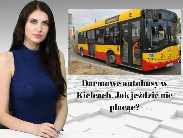 Jak jeździć za darmo po Kielcach? WIADOMOŚCI ECHA DNIA