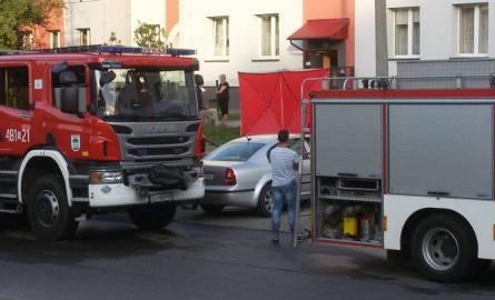 W pożarze mieszkania w Zagłębiu zginął mężczyzna