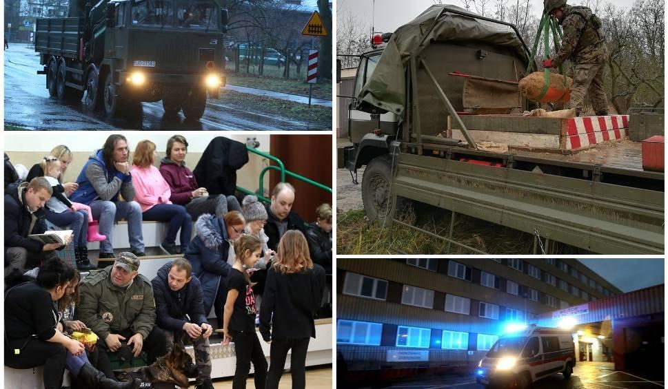 Film do artykułu: Bomba w Policach i (nie)wielka ewakuacja mieszkańców. Ale i tak to największa akcja w najnowszej historii miasta