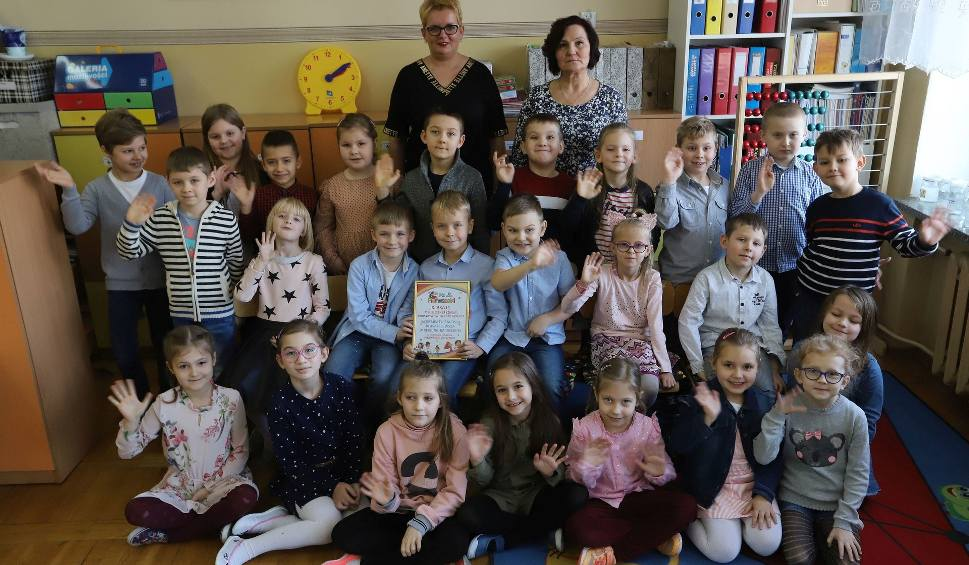 Film do artykułu: Pierwszaki 2019-20 w regionie radomskim. Klasa 1 C z Publicznej Szkoły Podstawowej w Grójcu najlepsza!