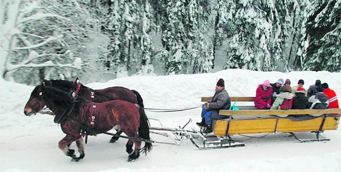 Kuligi to jedna z popularnych zimowych atrakcji w Beskidach, która jest urozmaiceniem m.in. spotkań okolicznościowych