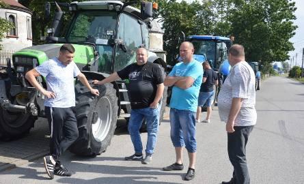 Protest rolników w powiecie piotrkowskim 10.07.2020