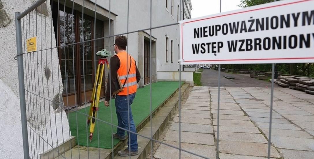 Przygotowują front robót na Zamku w Szczecinie