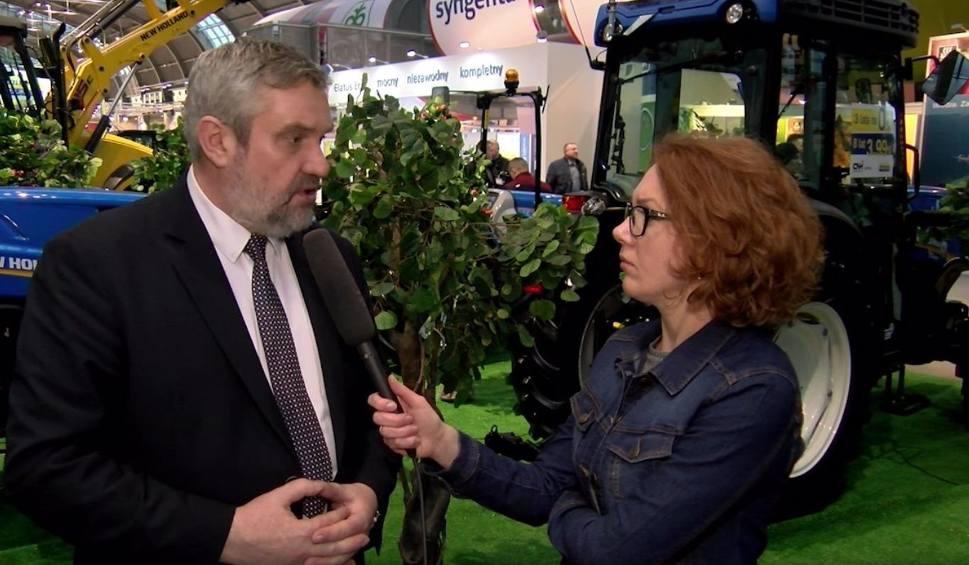 Film do artykułu: Gość Dnia. Minister rolnictwa w Kielcach o skupie jabłek, szacowaniu strat, imporcie żywności i protestach