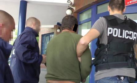 Spalone zwłoki w Strzelcach Górnych. Podejrzewany o zabójstwo zatrzymany! [wideo]