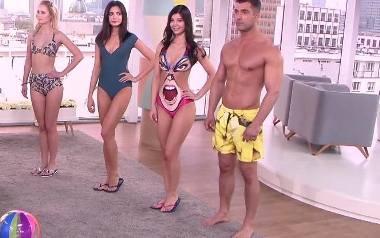 Trendy w modzie plażowej. Jakie stroje dla pań, a jakie dla panów?