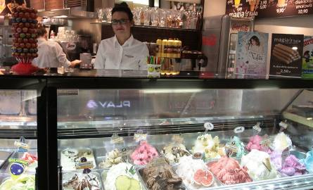 I MIEJSCE - Magia d'italia Gelati Caffe, Radom, Galeria SłonecznaLodziarnia oferuje przeróżne rodzaje lodów własnej produkcji. Tworzone są one wyłącznie