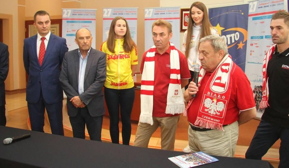 Film do artykułu: Startuje Wyścig Solidarności Olimpijczyków. Trasa w Końskich i Kielcach