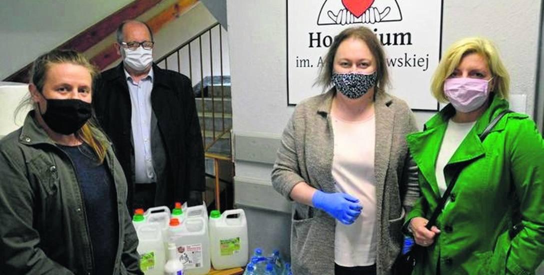 Skierniewickie hospicjum apeluje o pomoc w czasie epidemii