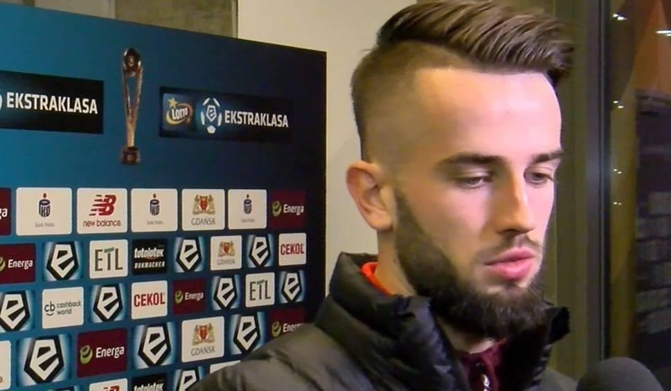 Film do artykułu: Mateusz Wdowiak po meczu z Lechią: Wynik boli, bo udowodnilismy, że potrafimy grać