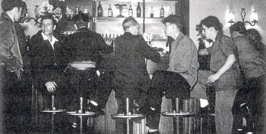 W latach 70. ubiegłego wieku Inter-Club w Gdyni dostępny był tylko dla wybranych. Tak wyglądał bar
