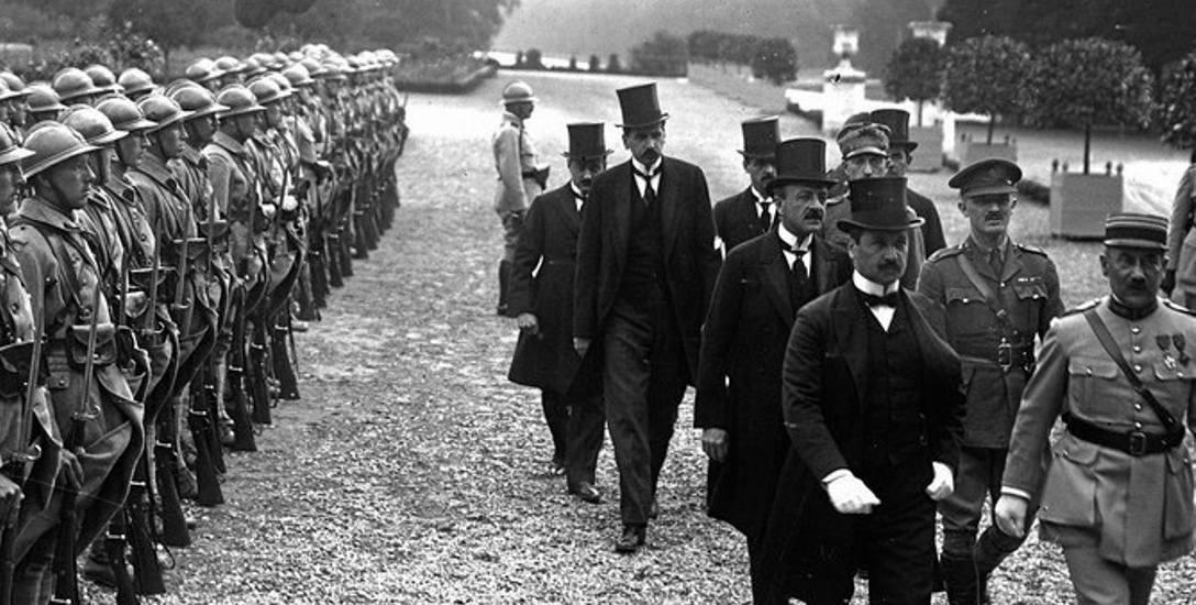 Delegacja węgierska w Trianon