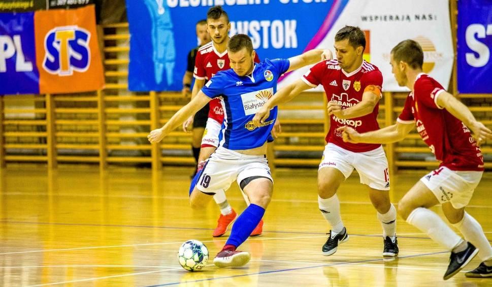 Film do artykułu: Futsal. MOKS Białystok odbił się od dna tabeli ekstraklasy