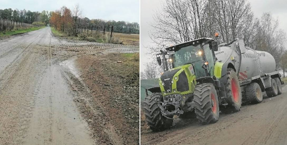 Sprzęt rolniczy nie ma w Sulinie wyznaczonych alternatywnych tras, którymi mógłby jeździć. Kierowcy korzystają z drogi wiejskiej. - Ale kultura wymaga,