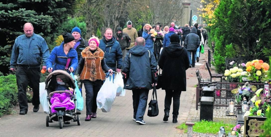 Inneko RCS ma w planach poprawienie wyglądu głównych alejek na cmentarzu przy ul. Żwirowej