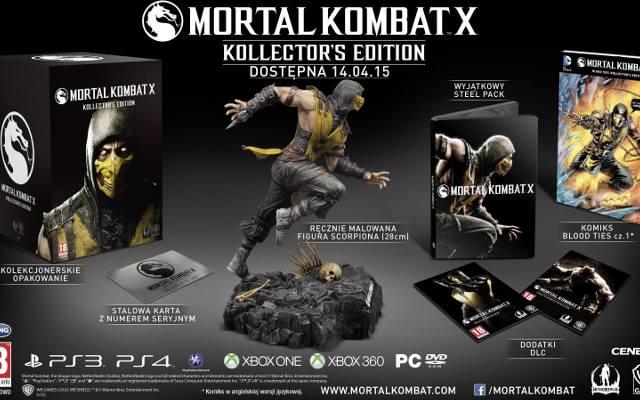 Mortal Kombat X: Szczegóły polskiego wydania