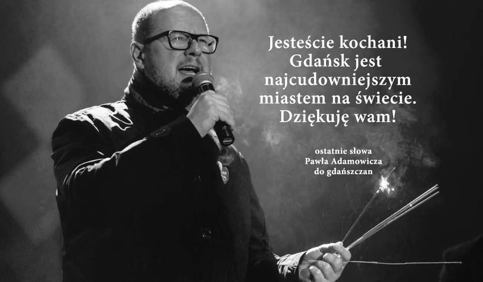 Film do artykułu: Paweł Adamowicz nie żyje. Prezydent Gdańska zmarł w szpitalu UCK 14.01.2019 po ataku nożownika na finale WOŚP. Gdańsk w żałobie!