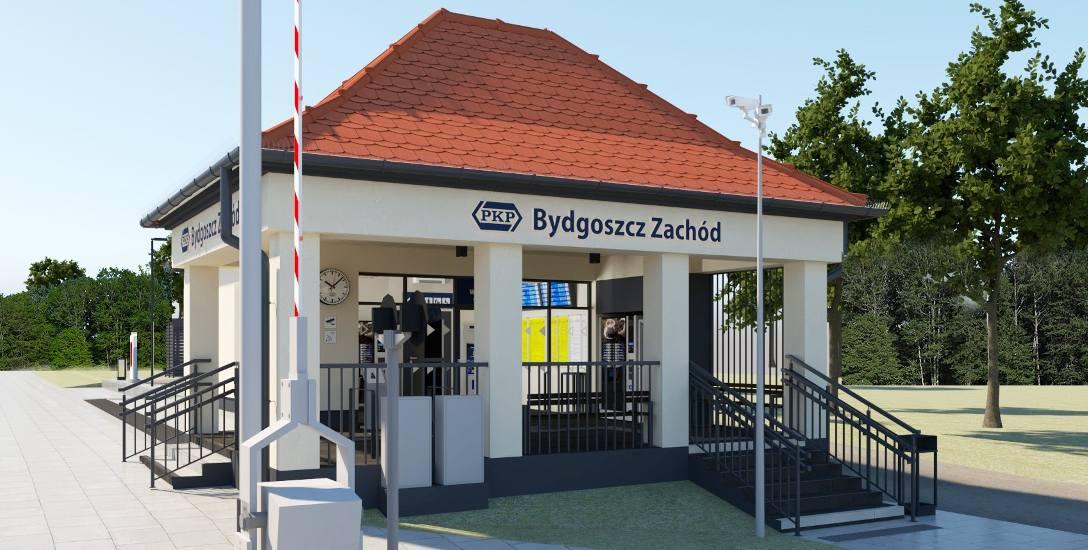 Tak ma po remoncie wyglądać dworzec Bydgoszcz-Zachód.