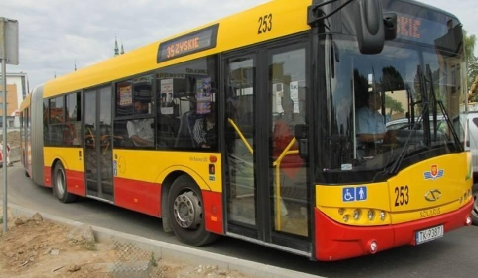 Film do artykułu: Świętokrzyscy policjanci kontrolowali prędkość autobusów. Kilkanaście jechało zbyt szybko. Stan techniczny jednego z nich był opłakany