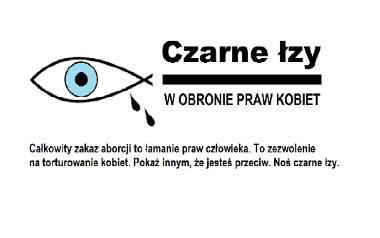 Czarne łzy. Protest w obronie praw kobiet