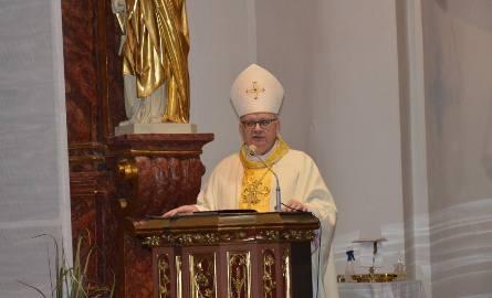 Wielkoczwartkowej liturgii przewodniczył biskup Andrzej Czaja.