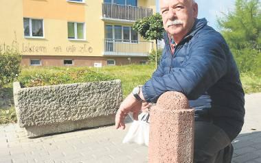 b Ryszard Zawadzki z Zielonej Góry tłumaczy, że  przebicie udrożniłoby ciasne ulice na osiedlu Piastowskim, ale rozumie też mieszkańców, którzy nie chcą