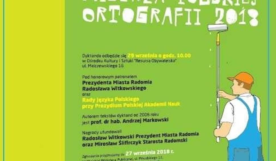 Film do artykułu: XIII otwarty konkurs o tytuł Radomskiego Mistrza Polskiej Ortografii już wkrótce