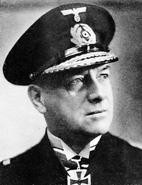 Admirał Erich Raeder – dowódca Kriegsmarine