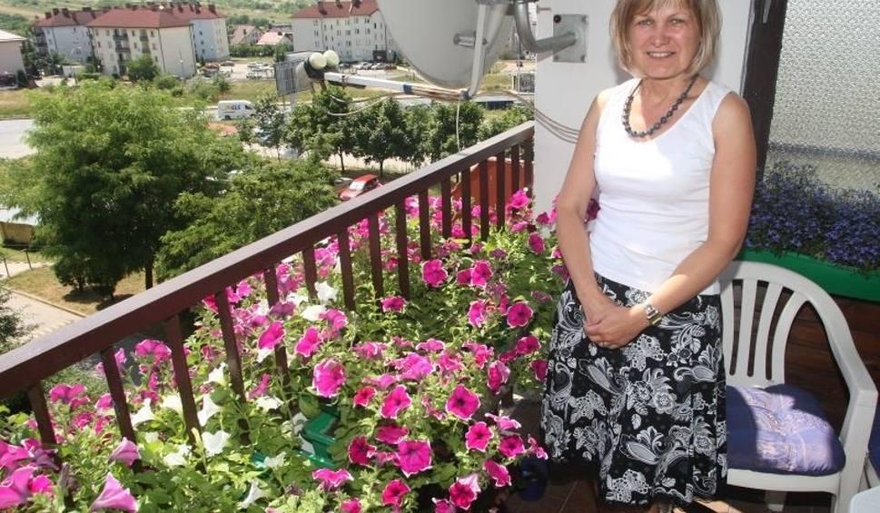 Tylko W Kielcach Takie Rzeczy Pod Dalnią Kwiatów Na Balkonie Nie