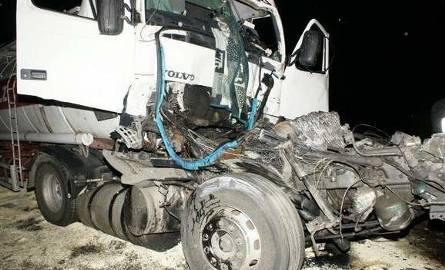To był gigantyczny karambol! Dwie ciężarówki i cztery samochody osobowe skasowane! Obejrzyj zdjęcia