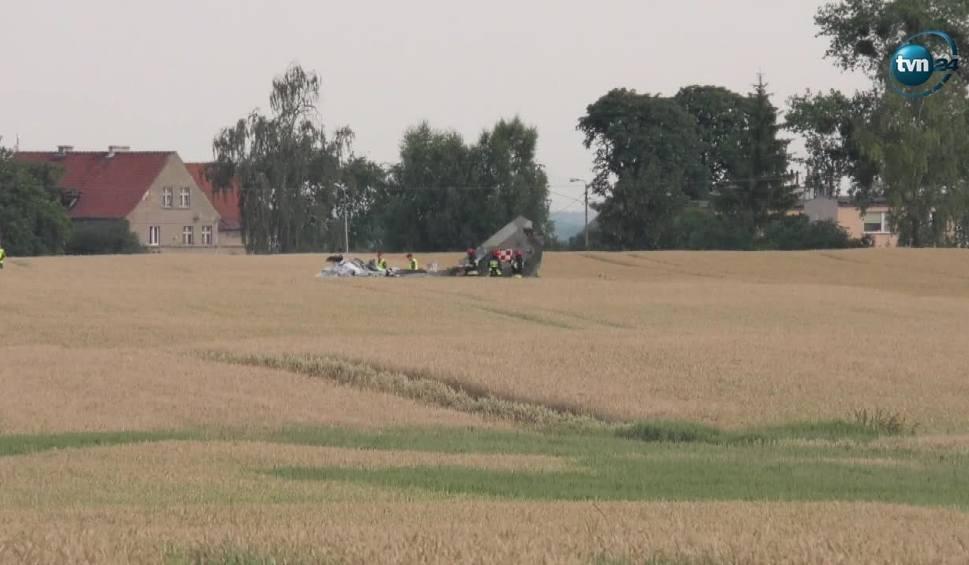Film do artykułu: Katastrofa myśliwca MiG-a 29 pod Pasłękiem. Pilot z bazy w Malborku nie żyje. Do tragedii doszło 6.07.2018 r. Śledztwo prokuratury wojskowej
