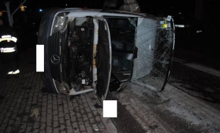 Tragiczny wypadek busa i pługu w Żywcu