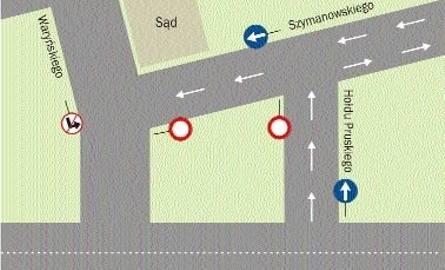 Ulica Waryńskiego od dziś dostępna. Wracają autobusy (zobacz rozkład jazdy 6,8,11)