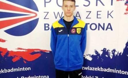 Jakub Suszyński choć jest jeszcze juniorem młodszym to doskonale radzi sobie w starszym roczniku.