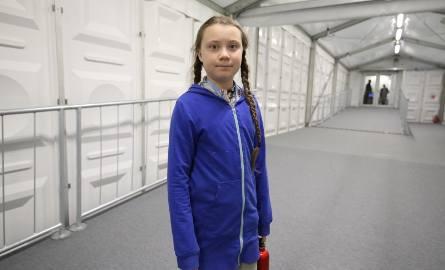 Greta Thunberg chciała wejść do elektrowni Bełchatów. Nagrywała film