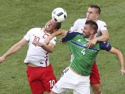 Polacy zdominowali Irlandię Północną w pierwszym meczu Euro 2016