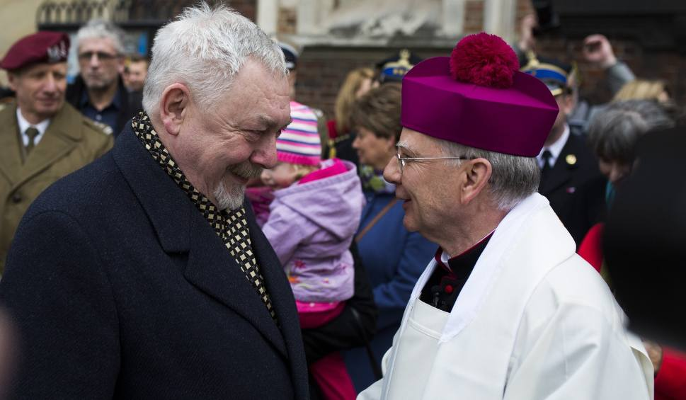 Jacek Majchrowski i abp Marek Jędraszewski