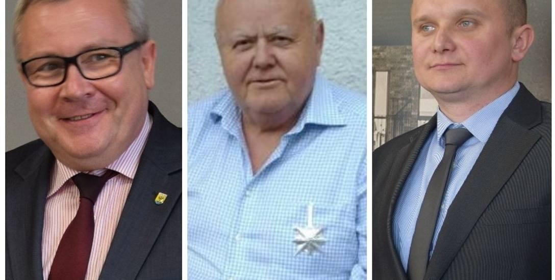Oni chcą startować w wyborach prezydenckich w Nowej Soli. Jacek Milewski, Edmund Kotlarski i Przemysław Ficner
