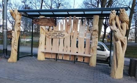 Nowe oryginalne przystanki ozdabiają gminę Wejherowo [ZDJĘCIA]