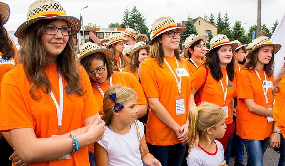 Film do artykułu: Światowe Dni Młodzieży: Pielgrzymi powitani na Śląsku Cieszyńskim