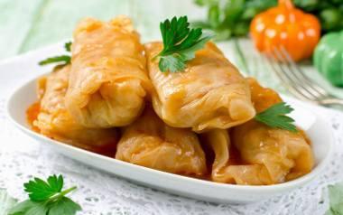 Domowe, najlepsze gołąbki z mięsem duszonym i ryżem.