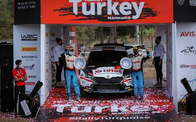 Kajetanowicz i Szczepaniak wygrali Rajd Turcji. To najlepszy wynik w dotychczasowej historii startów