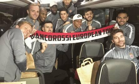 Tak cieszyli się piłkarze Monaco po zwycięstwie w Guingamp