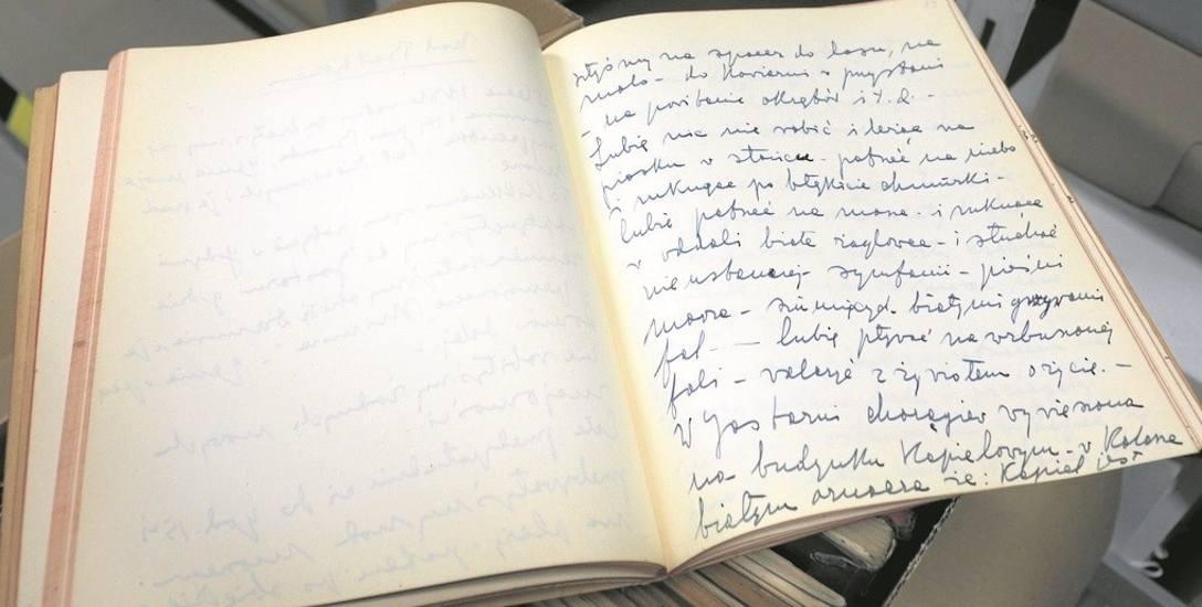 Baltarowicz-Dzielińska starannie przechowywała swoje odręcznie pisane życiorysy