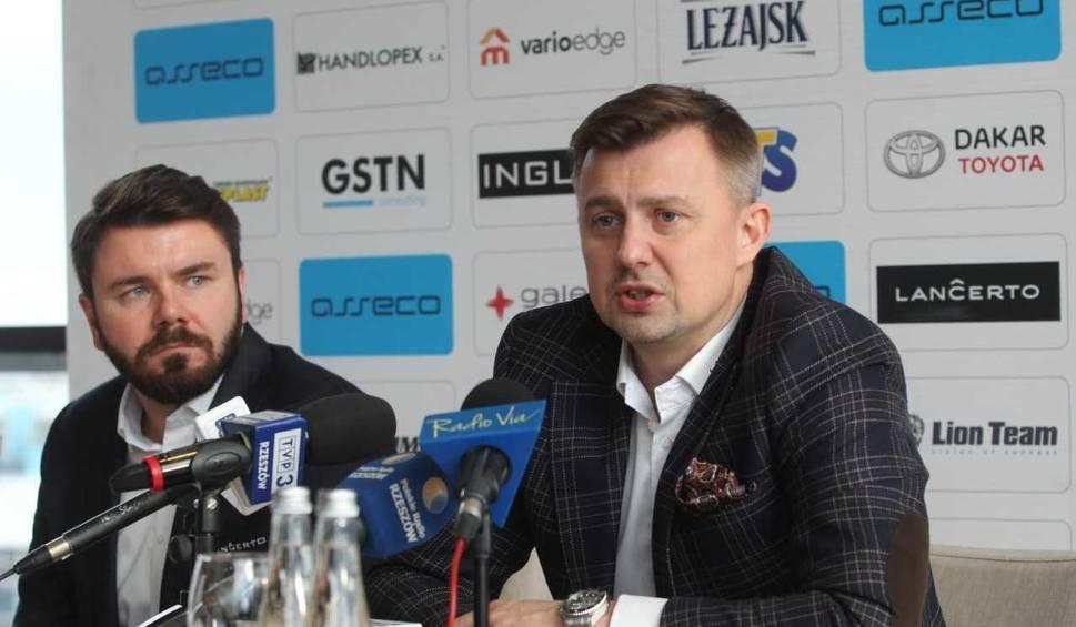 Film do artykułu: Krzysztof Ignaczak, nowy prezes Asseco Resovii: Nowa szczotka na razie zamiatać nie będzie! Planowana jest jednak zmiana w składzie drużyny