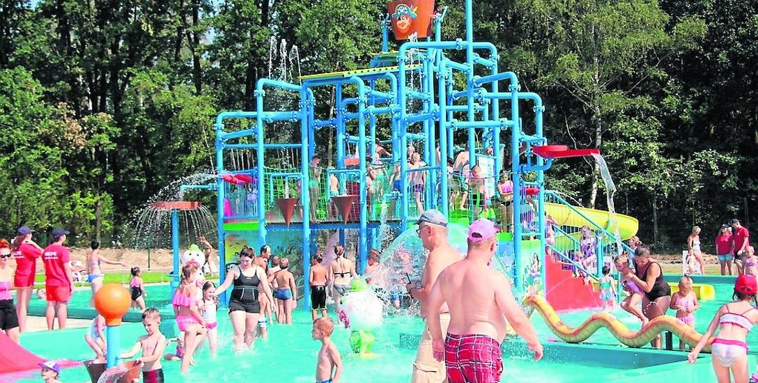 To basen i wodny plac zabaw w Piekarach Śląskich. Na nim ma wzorować się czeladzki projekt