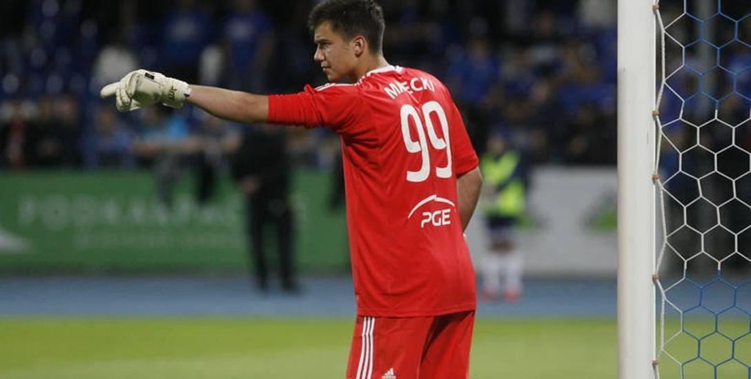 Radosław Majecki w barwach PGE Stali Mielec rozegrał 33 spotkania