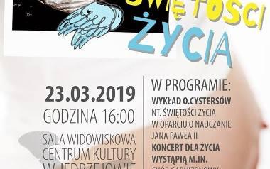 Dzień Świętości Życia w Jędrzejowie. Wykład i koncert - zaśpiewa Michał Steciak, uczestnik The Voice of Poland